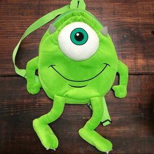 Disney Monsters Inc Backpack - Mike Wazowski